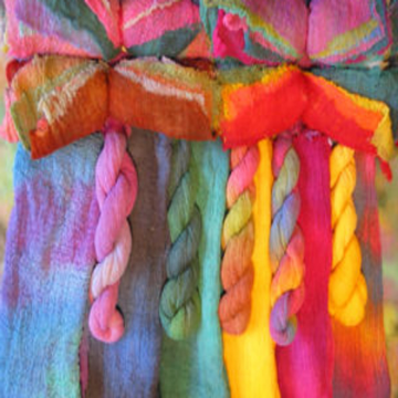 Hand Dyed Cotton Scrim Full Metre